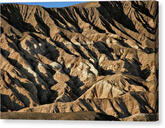 Season Canvas Print - Unearthly World - Death Valley's Badlands by Christine Till