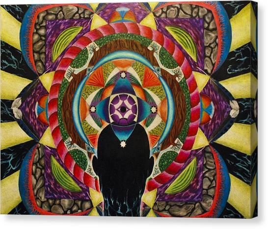 Unfolding Spirit Canvas Print by Matthew Fredricey