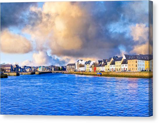 Unforgettable Galway Seaside Canvas Print by Mark Tisdale