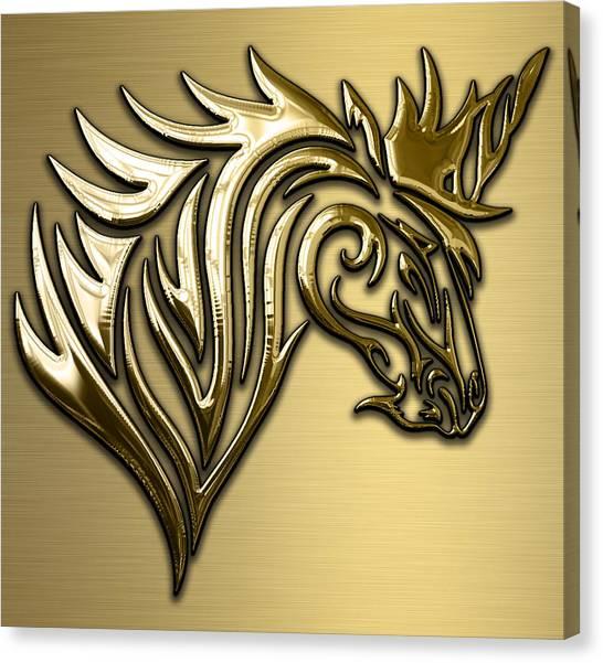 Unicorn Canvas Print - Unicorn Collection by Marvin Blaine