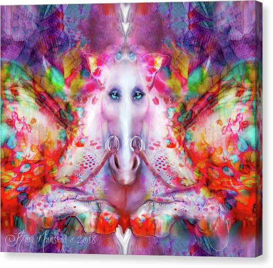 Unicorn Fairy Canvas Print