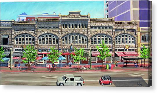 Union Block Building - Boise Canvas Print