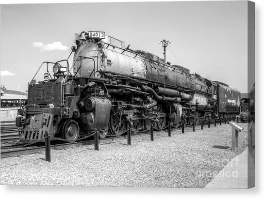 Union Pacific 4012 Canvas Print