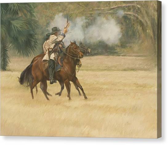 Union Riders Canvas Print