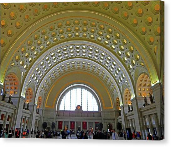 Union Station 12 Canvas Print