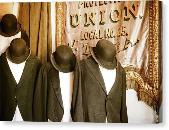 Union Vintage Clothing Canvas Print