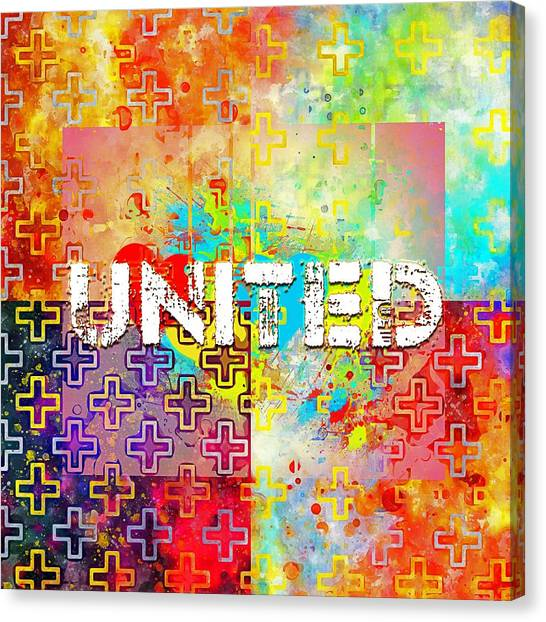 United Canvas Print