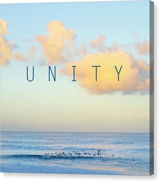 Pythons Canvas Print - Unity. by Sean Davey