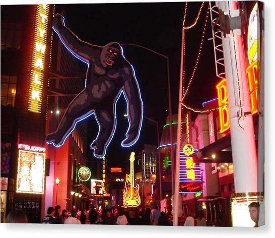 Universal King Kong Canvas Print