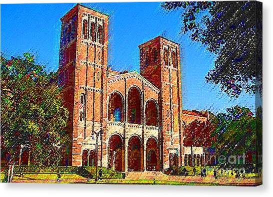 Ucla Canvas Print