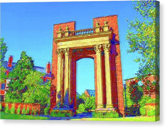 University Of Illinois  Canvas Print