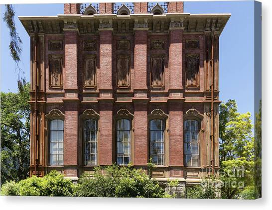 Uc Berkeley Canvas Print - University Of California Berkeley Historic South Hall Dsc4051 by Wingsdomain Art and Photography