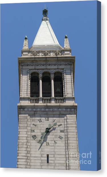Uc Berkeley Canvas Print - University Of California Berkeley Sather Tower The Campanile Dsc4046 by Wingsdomain Art and Photography