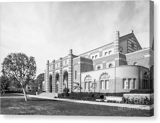 Ucla Canvas Print - University Of California Los Angeles Kaufman Hall by University Icons
