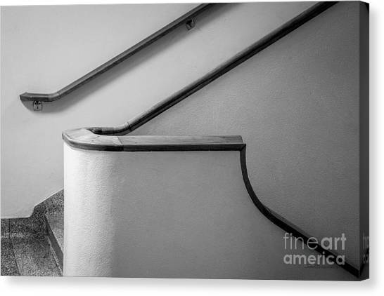 Ucla Canvas Print - University Of California Los Angeles Murphy Hall Stairway by University Icons