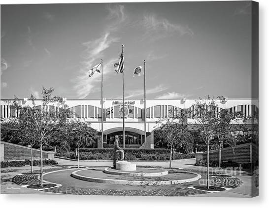 University Of Central Florida Ucf Canvas Print - University Of Central Florida Millican Hall by University Icons