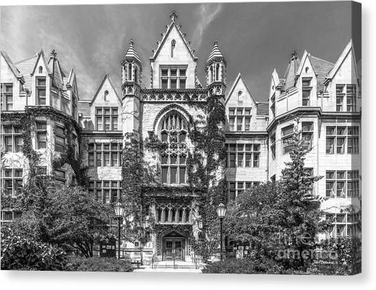 Hyde Park Canvas Print - University Of Chicago Cobb Hall by University Icons