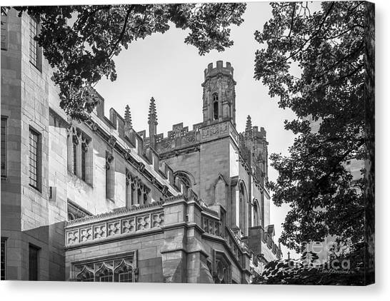Hyde Park Canvas Print - University Of Chicago Collegiate Architecture by University Icons