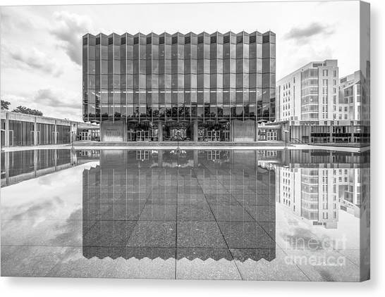 Hyde Park Canvas Print - University Of Chicago D' Angelo Law Library by University Icons