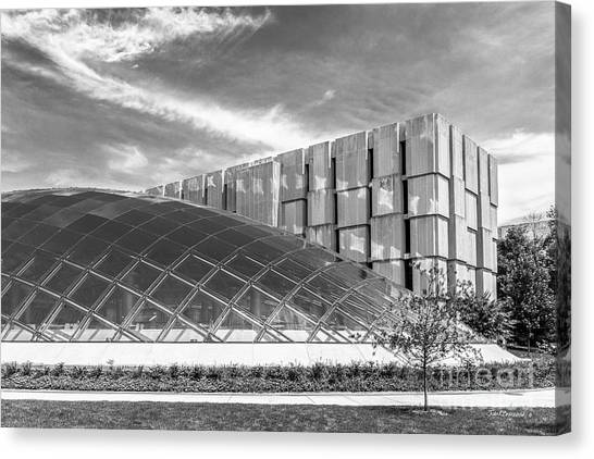 Hyde Park Canvas Print - University Of Chicago Mansueto Library by University Icons