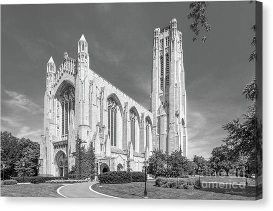 Hyde Park Canvas Print - University Of Chicago Rockefeller Chapel by University Icons