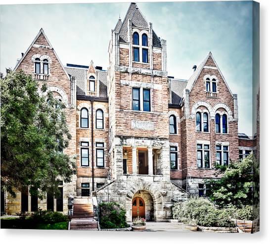 University Of Colorado Canvas Print - University Of Colorado  Hale Building - Photography by Ann Powell