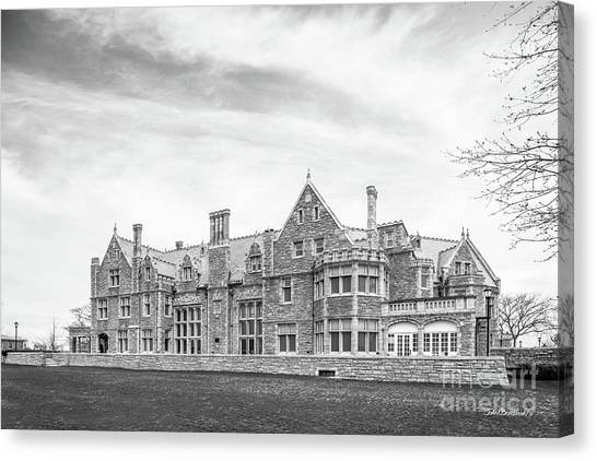 Aac Canvas Print - University Of Connecticut Avery Point Branford  by University Icons