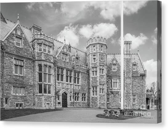 Aac Canvas Print - University Of Connecticut Avery Point Branford House by University Icons