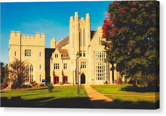 University Of Connecticut Canvas Print - University Of Connecticut Law School by Library Of Congress