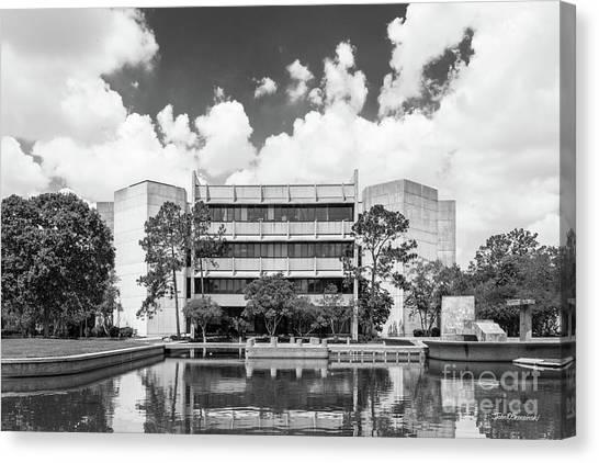 University Of Houston Canvas Print - University Of Houston College Of Education by University Icons