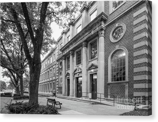 University Of Iowa Canvas Print - University Of Iowa Chemistry Building by University Icons