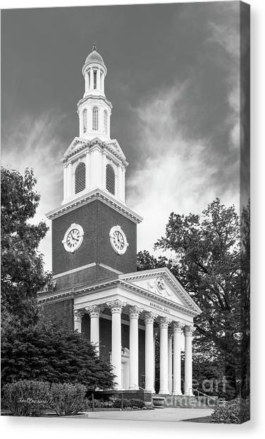 University Of Kentucky Canvas Print - University Of Kentucky Memorial Hall by University Icons