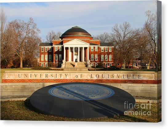 University Of Louisville Canvas Print - University Of Louisville 1906 by Jack Schultz