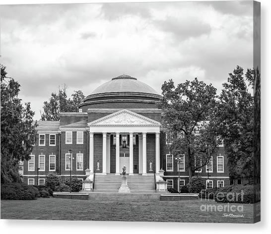University Of Louisville Canvas Print - University Of Louisville - Grawemeyer Hall by University Icons