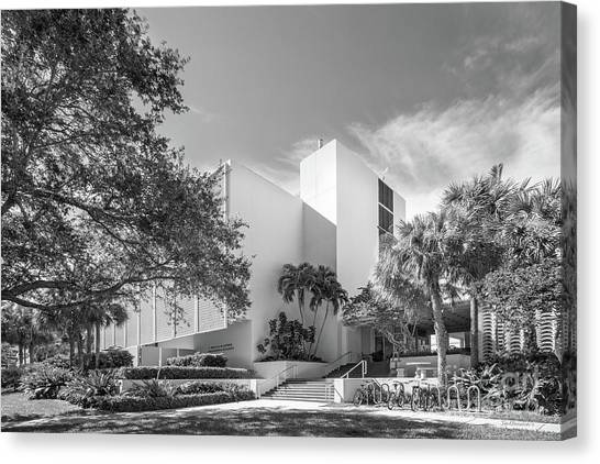University Of Miami Canvas Print - University Of Miami College Of Engineering by University Icons