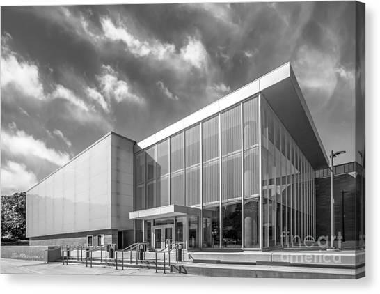 University Of Michigan Canvas Print - University Of Michigan Arthur Miller Theater by University Icons