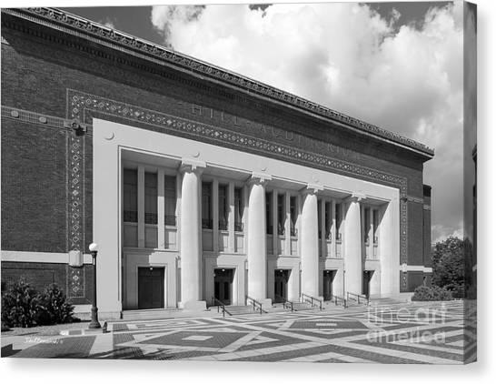 Arbor Canvas Print - University Of Michigan Hill Auditorium by University Icons