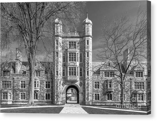Arbor Canvas Print - University Of Michigan Law Quad by University Icons