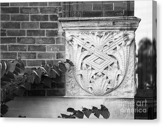 Arbor Canvas Print - University Of Michigan Organic Detail by University Icons