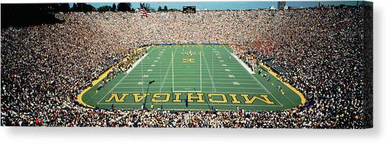Arbor Canvas Print - University Of Michigan Stadium, Ann by Panoramic Images