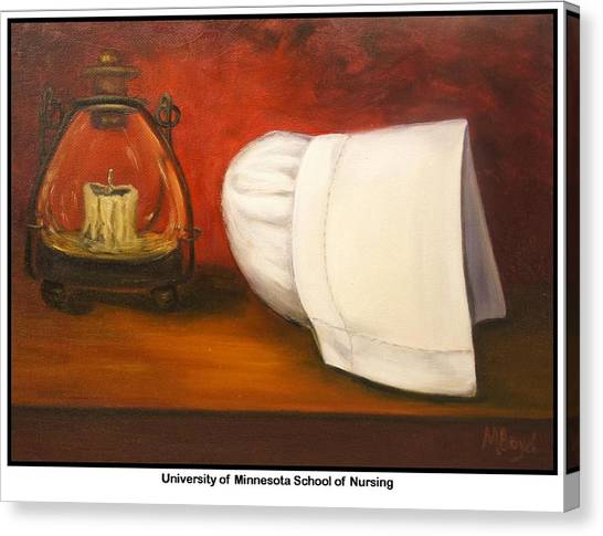 University Of Minnesota School Of Nursing Canvas Print