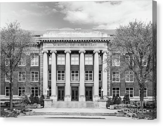 Neoclassical Art Canvas Print - University Of Minnesota Smith Hall by University Icons
