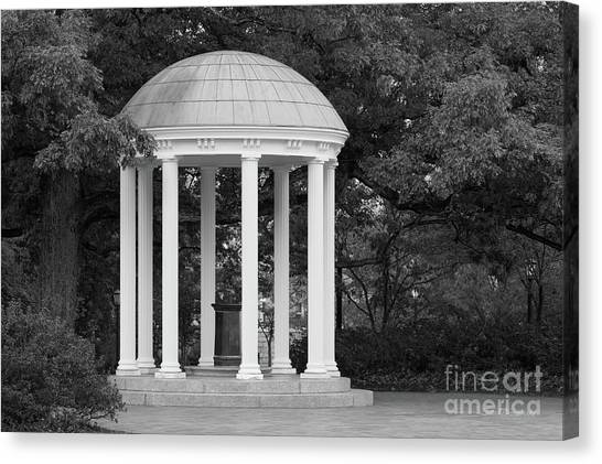 University Of North Carolina Chapel Hill Canvas Print - University Of North Carolina Chapel Hill Old Well by University Icons