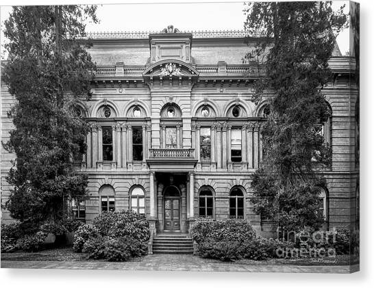 Pac 12 Canvas Print - University Of Oregon Villard Hall by University Icons