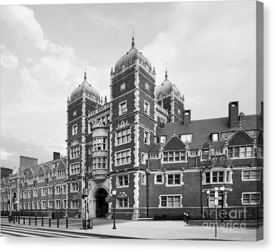 Degrees Canvas Print - University Of Pennsylvania The Quadrangle by University Icons