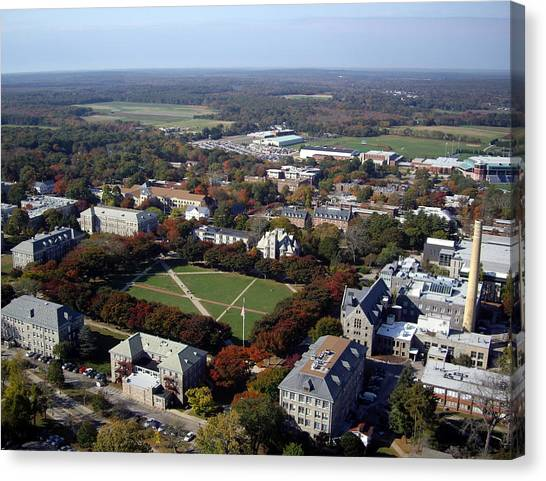 University Of Rhode Island Uri Canvas Print - University Of Rhode Island by Nathan Bousquet