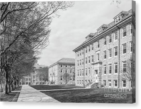 Caa Canvas Print - University Of Rhode Island Quad by University Icons