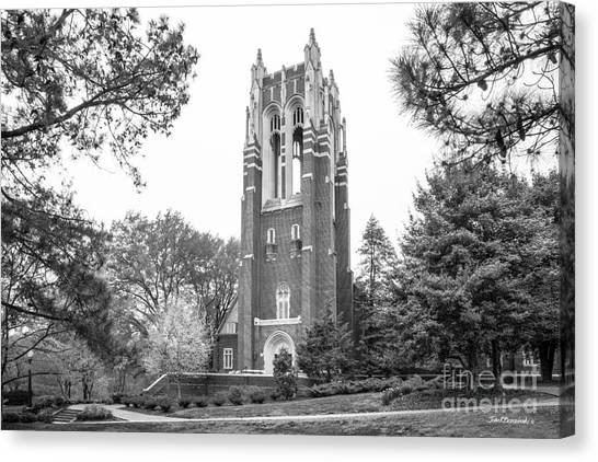 University Of Virginia Canvas Print - University Of Richmond Boatwright Library by University Icons