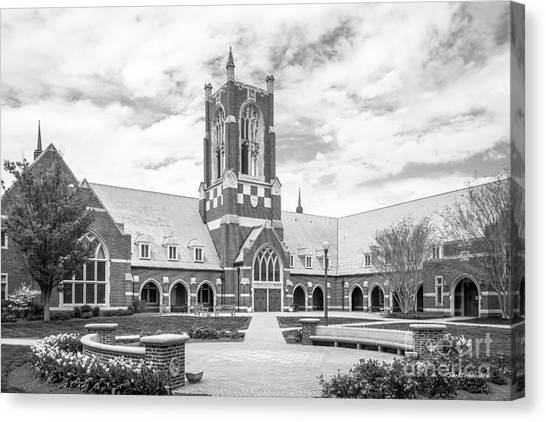 University Of Virginia Canvas Print - University Of Richmond Jepson Hall by University Icons