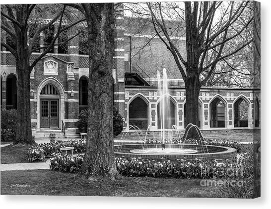 University Of Virginia Canvas Print - University Of Richmond Richmond Hall by University Icons